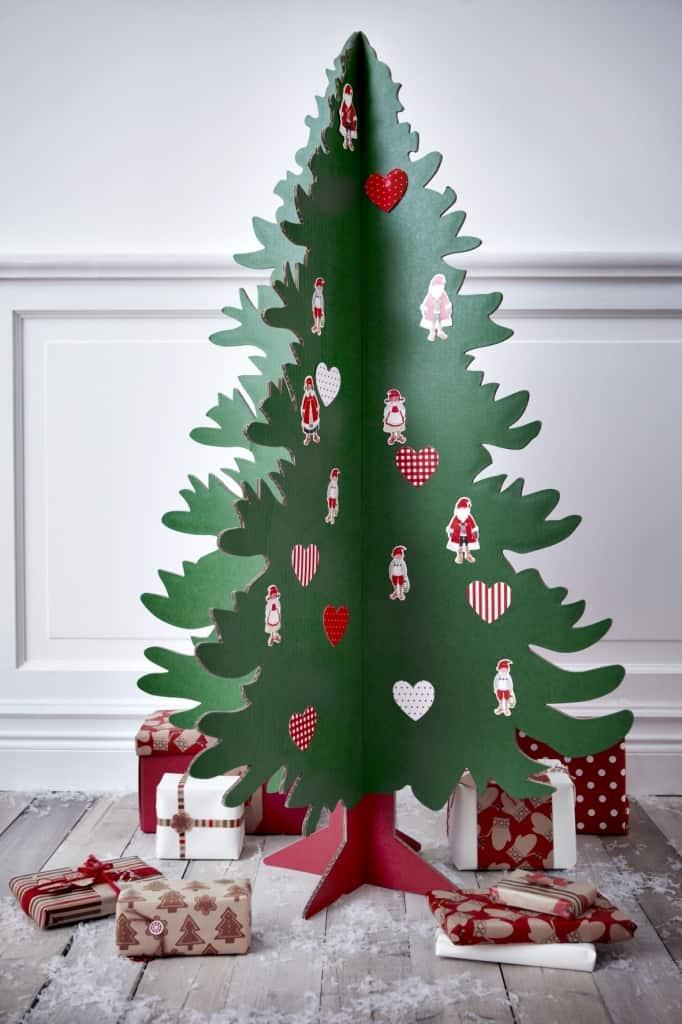 Eight Incredibly Creative Alternative Diy Christmas Trees