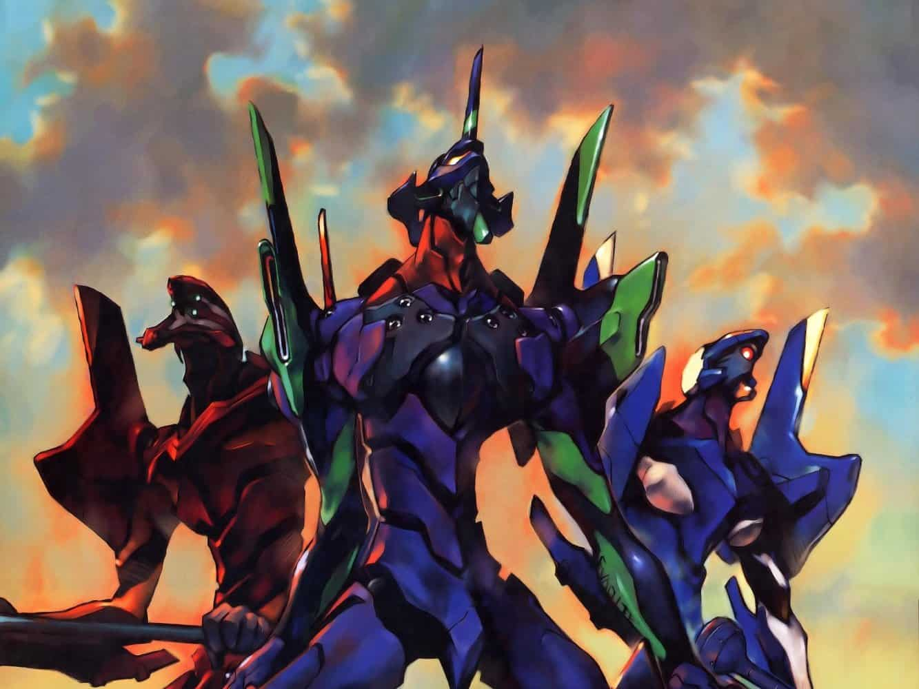 Neon Genesis Evangelion best Anime