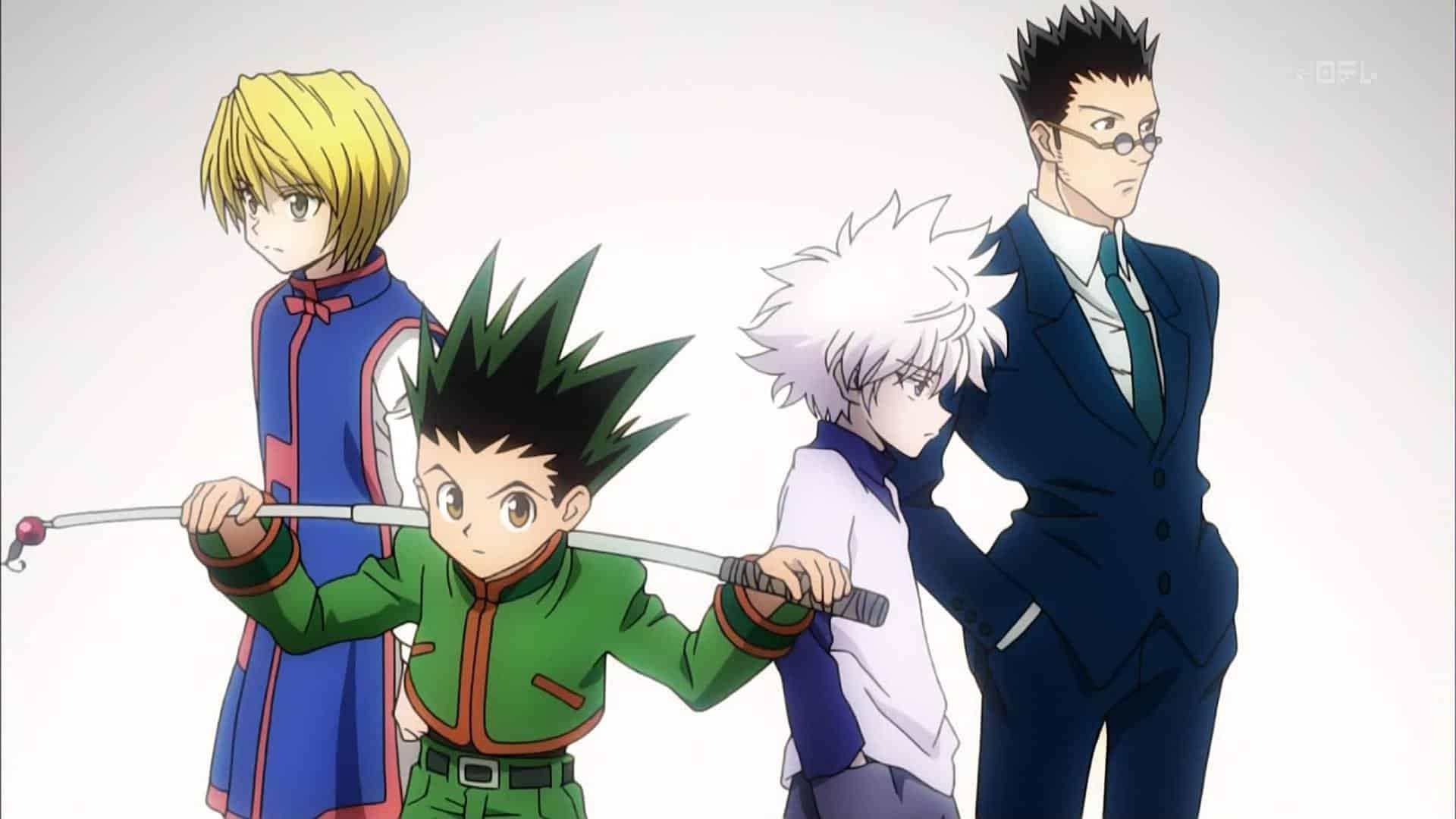 Hunter x Hunter best anime