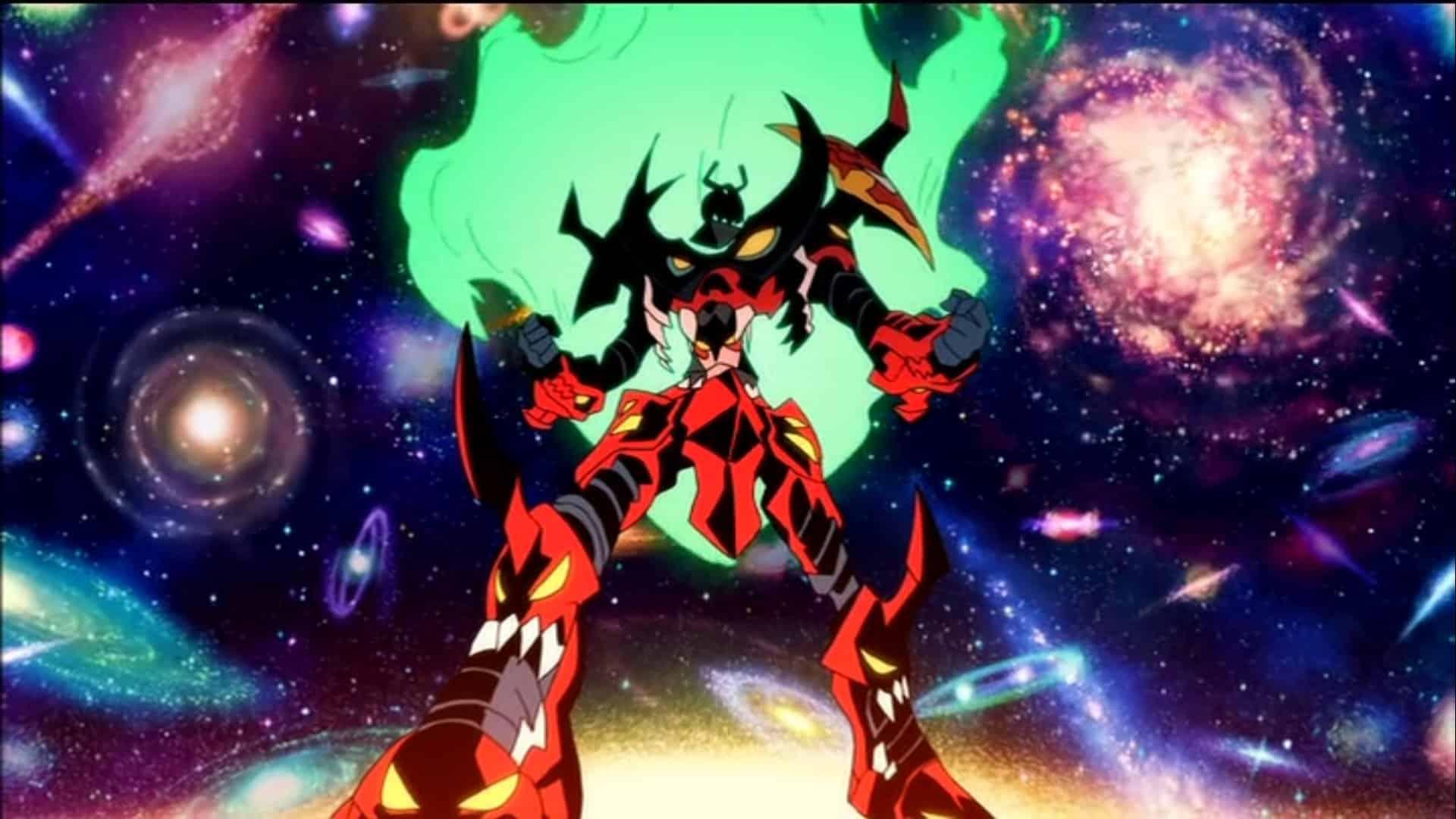 Gurren Lagann best anime