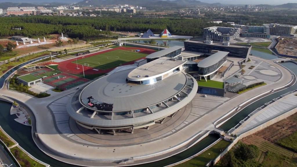Chinese Millionaire Converts Headquarters Into The Starship Enterprise