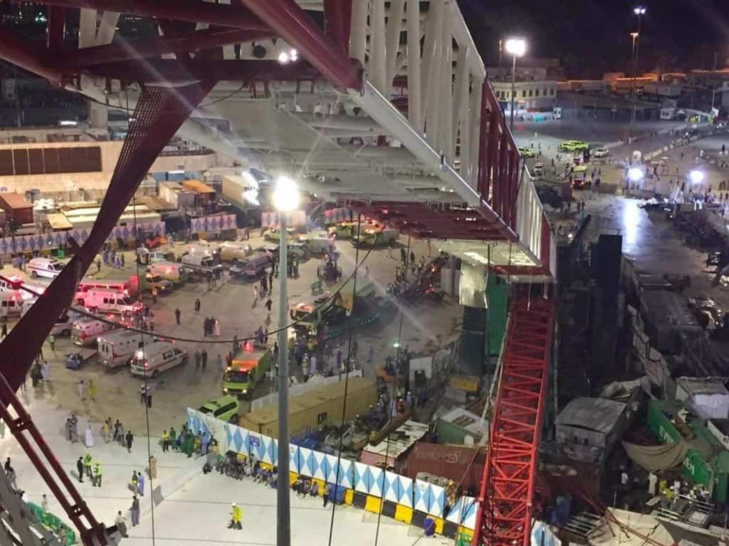 Falling Crane Kills 107 People In Mecca