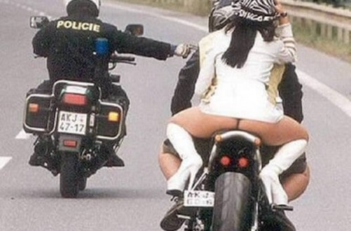 10 Hilarious Pictures Of People On Motorcycles