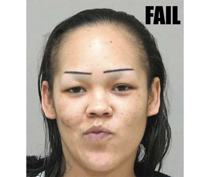 10 Of The Funniest Eyebrow Fails You'll Ever See